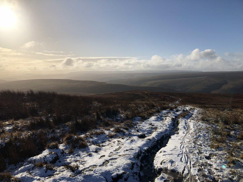 Howden Edge decent to Cranberry Clough, Peak Distrcit