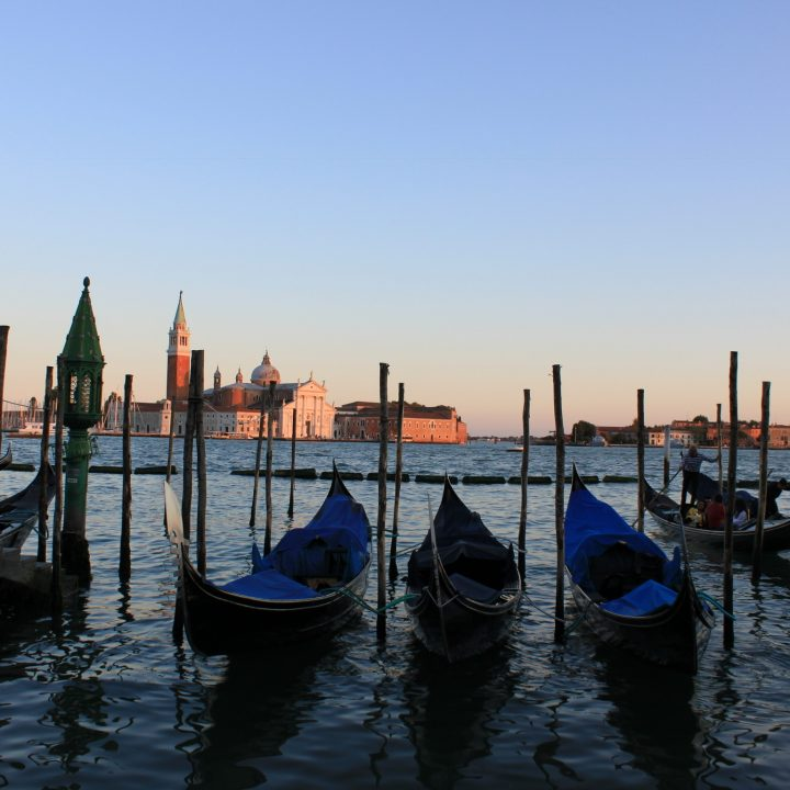 Venice Gondola Sunset