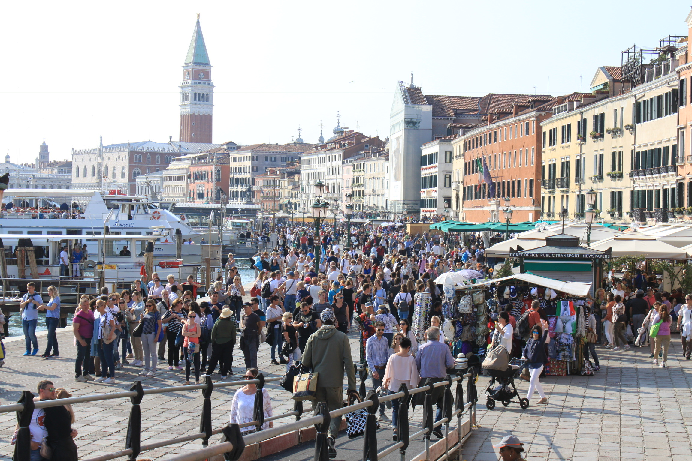 Tourist problem in Venice