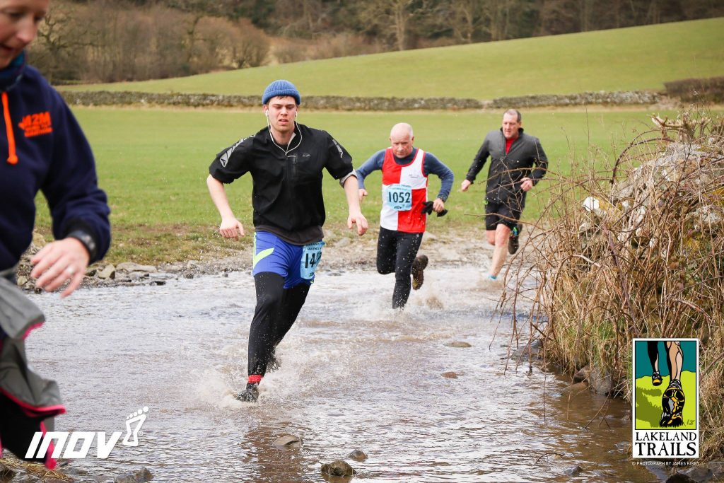 James Moor running Cartmel 10km