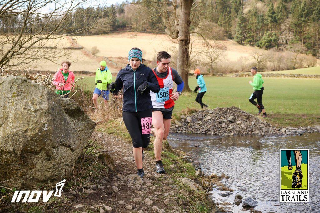 Briony Harrison running Cartmel 10km
