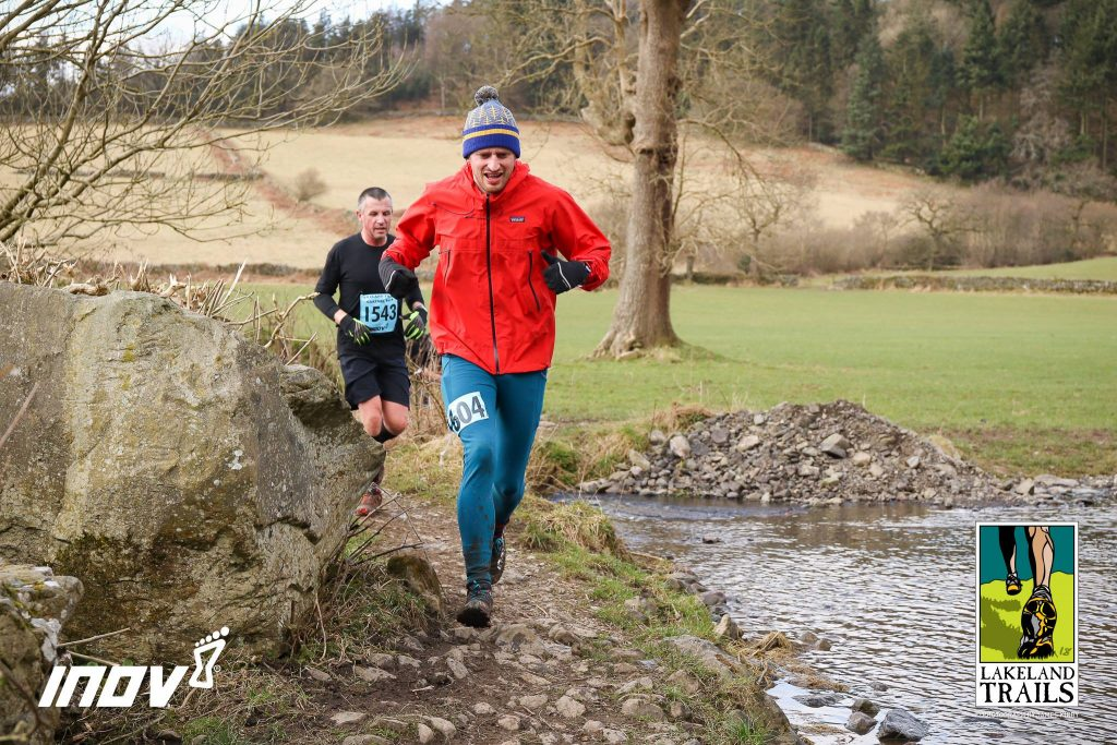 Tim Slack running Cartmel 10km
