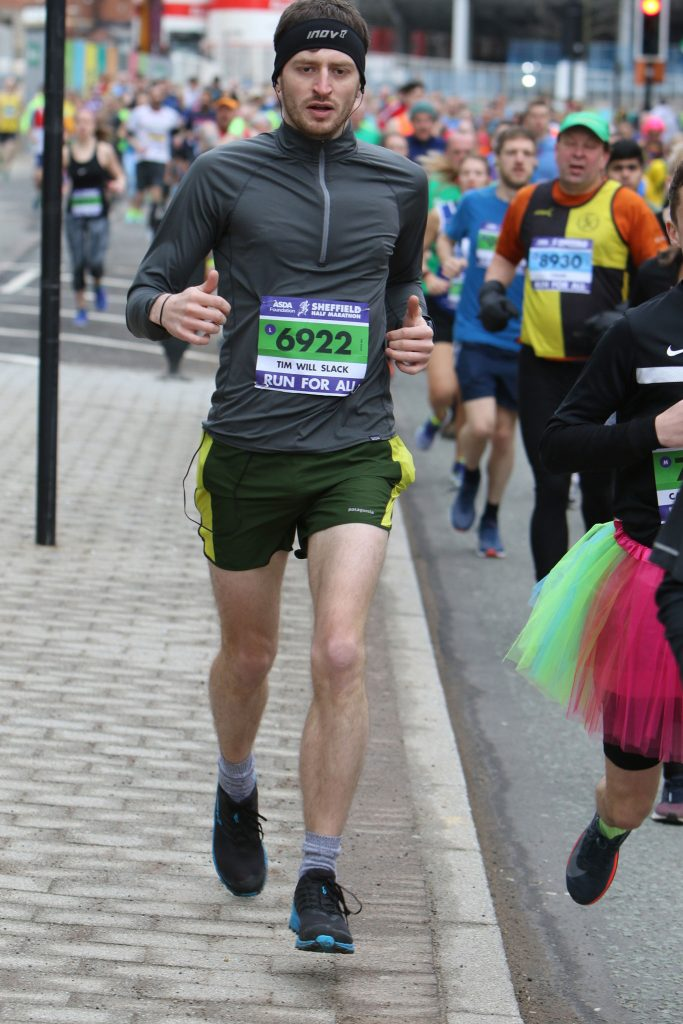 Tim Slack Sheffield Half Marathon 2018