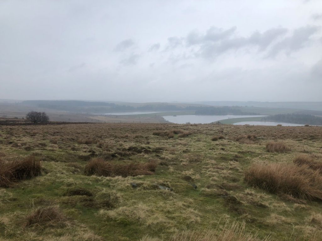 Redmires Reservoir from Rud Hill
