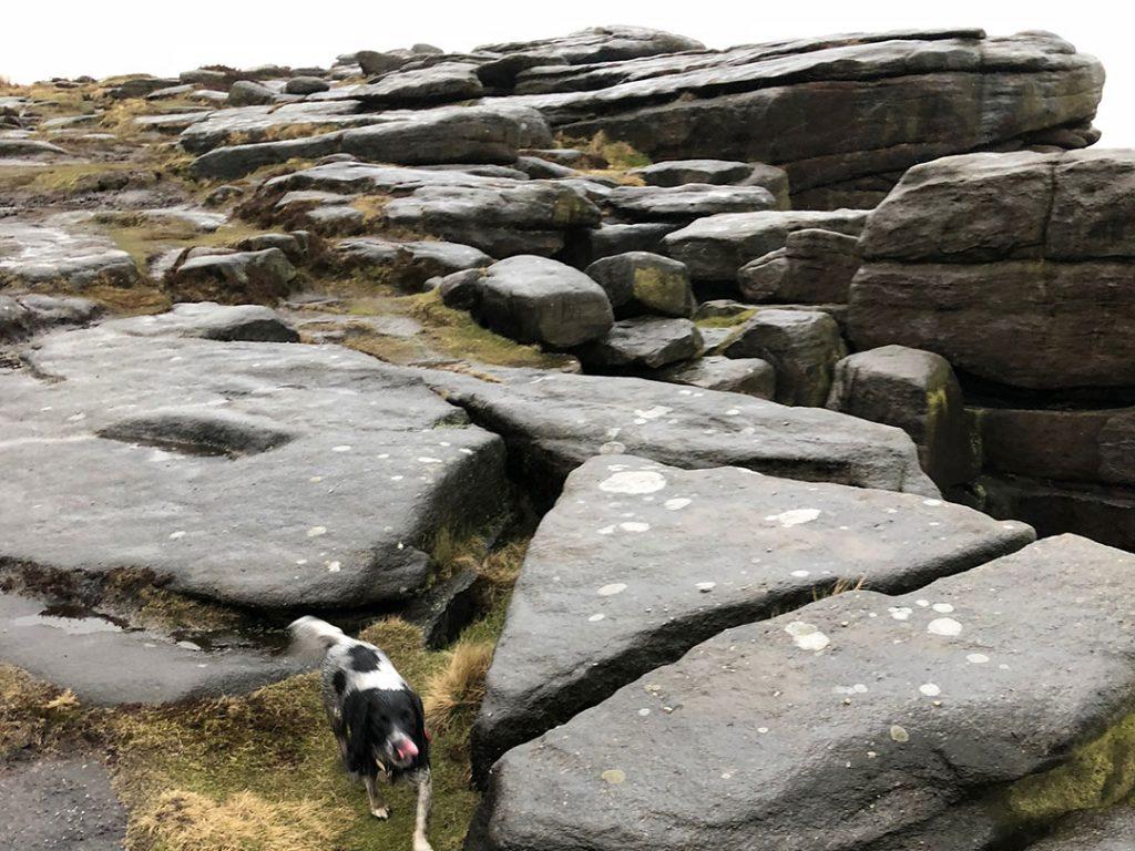 Stanage Edge Treacherous Terrain