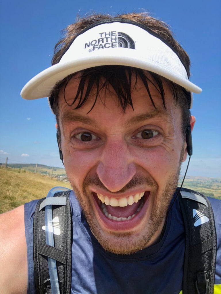 Tim Slack Running Dovedale Dipper Marathon
